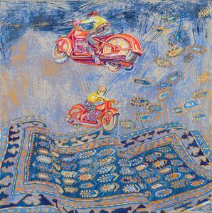 Flying Motorcycles I