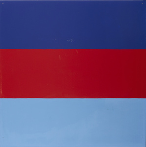 Untitled | Series with red and blue as recurring colours
