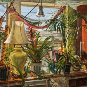 Still Life With Iguana, Oakland California