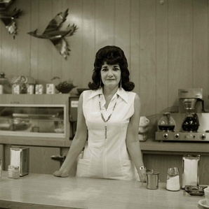 Truckstop Waitress, Highway 66, Gallup, New Mexico