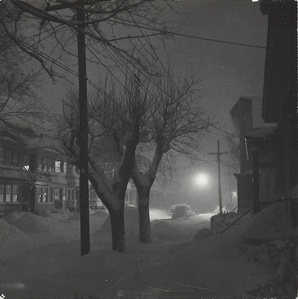 Snow on City Street