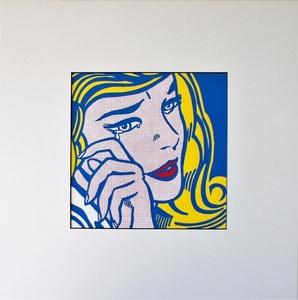 Crying Girl 1964 for Art Basel