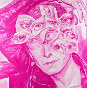 Pink Eleven Eyes