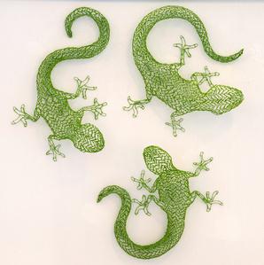 Lizards I, II and III
