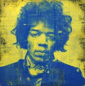 Jimi was a Rockstar Yellow