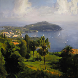 Sun and Clouds, Cap Ferrat