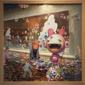 Children meet Murakami Halloween