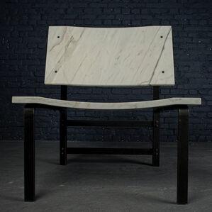 Low armchair