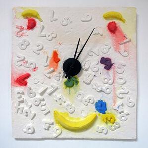 Fruit Face Clock
