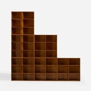 bookcases, set of six
