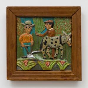 Farmer and Mule