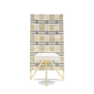 'Miss Wirt' Canvas Chair