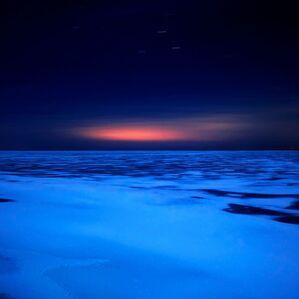 Lake Huron, 8:08pm, 3.14.2011