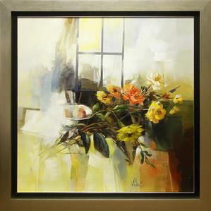 Interno con Fiori (Interior with Flowers)