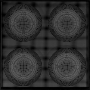 4 Esferas. Núcleo En Evolucion (Negro)