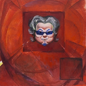 Red-square Portrait