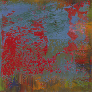 Destroyed Richter Painting No.10