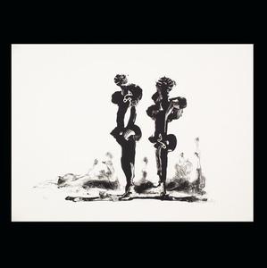 Two Calligraphic Figures