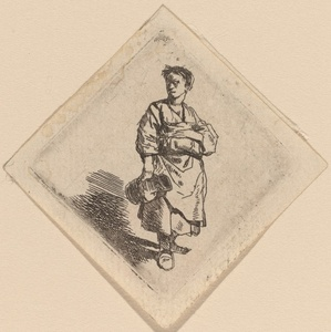 The Woman with the Jug, Standing