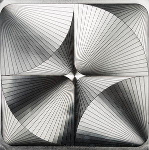 Untitled, (Metallic Square 2)