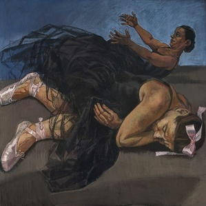 Dancing Ostriches by Paula Rego