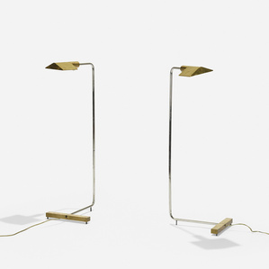 floor lamps model 1UWV, pair
