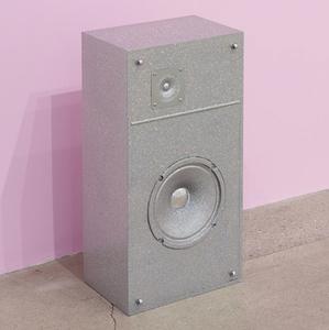 Untitled (Glitter Speaker)