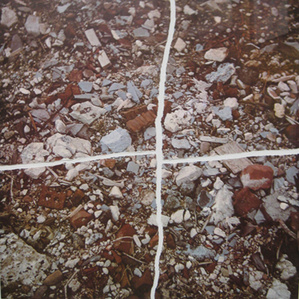 Torn Photograph from the Second Stop (Rubble) (Second Mountain of Six Stops on a Section)