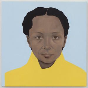 Sunstrum (After Pamela Phatsimo Sunstrum). Botswanan-born artist and creative researcher. She is also the artist's for-mer studio partner and long-time collaborator.
