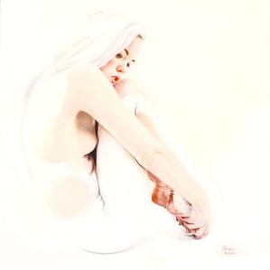 Lauren in White