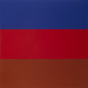 Untitled / Series with red and blue as recurring colours