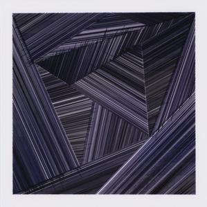 Temps et variations I (violet) / Time & Variations I (purple)