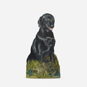 Labrador umbrella stand