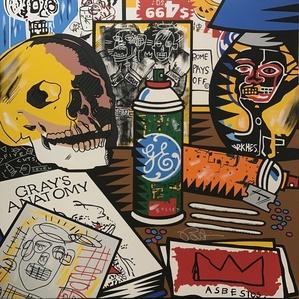 Jean-Michel Basquiat Nightstand