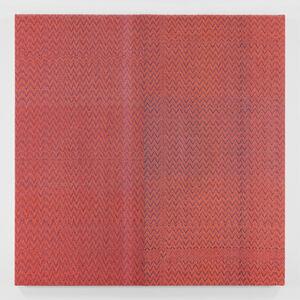 Shadow Weave Navy Blue (23) + Neon Orange 8/4 Cotton 15 EPI