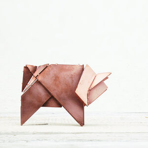 Schwiene the Origami Pig