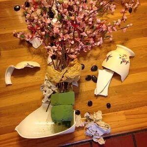 Untitled (Broken Vase)