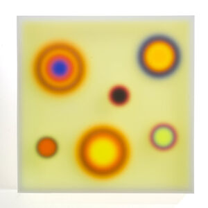 Color Space – 6. Topographic impulse/ sand yellow medium