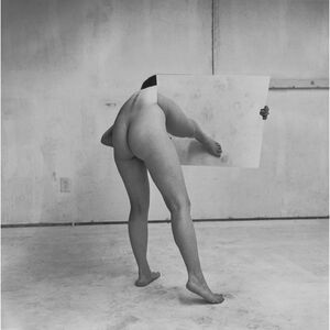 "Untitled from the series ""Body/Sculpture"""