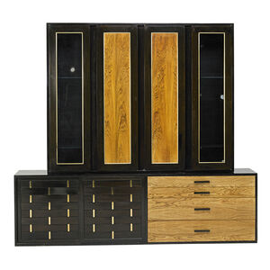 Two Harvey Probber Wall Cabinets