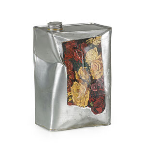 Can with Roses