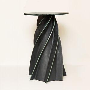 Twist Celadon Side Table
