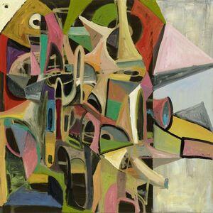 Abstrakte Komposition No. 4