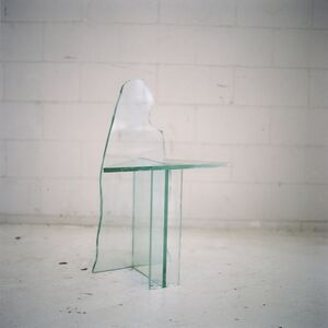 Mirage Glass Chair 2