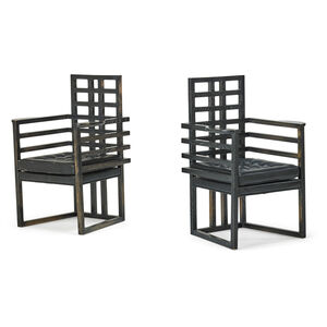 Pair Of Armchairs, Chicago, IL