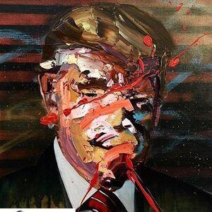 Portrait of a Man in Power