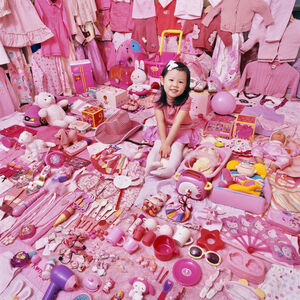 Seohyun and Her Pink Things