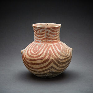 Neolithic Painted Terracotta Vessel