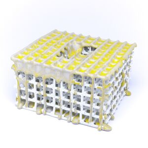 Scaffolding with Yellow