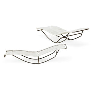 Pair of Waikiki Lounge Chairs (No. C4720), USA
